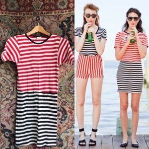 J Crew Collab with Edith A Miller Striped Dress